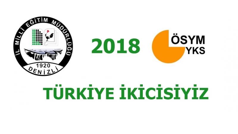 2018 YKS'de Türkiye İkincisiyiz