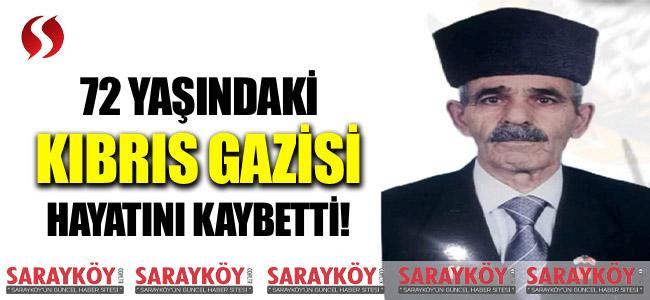 72 yaşındaki Denizlili Kıbrıs Gazisi hayatını kaybetti!