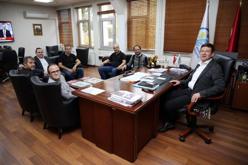 ADRENALİNDEN TUTKUNLARINDAN BAŞKAN SUBAŞIOĞLU'NA PLAKET