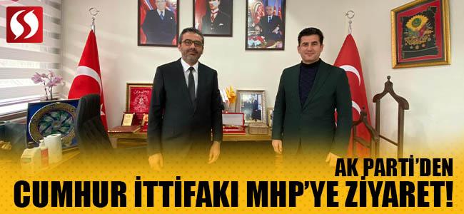 Ak Parti'den Cumhur İttifakı MHP'ye Ziyaret!