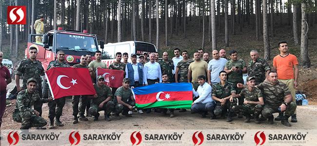 AK Partili Şahin Tin, Beyağaç-Köyceğiz sınırındaki yangın bölgesine gitti!