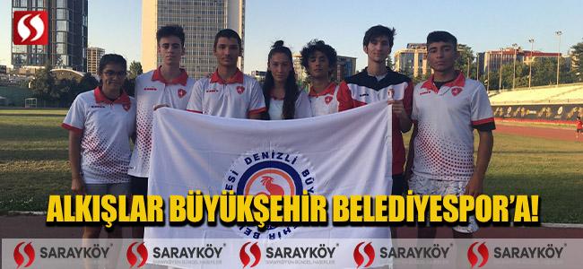 Alkışlar Büyükşehir Belediyespor'a!