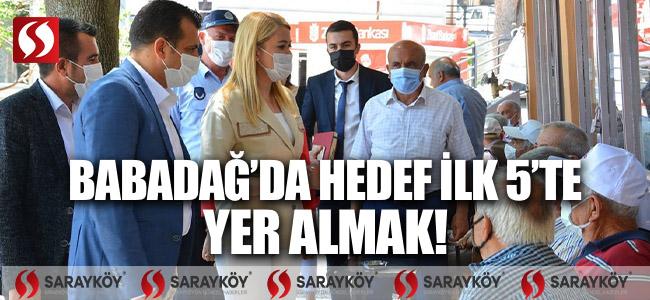 BABADAĞ'DA HEDEF İLK 5'DE YER ALMAK!