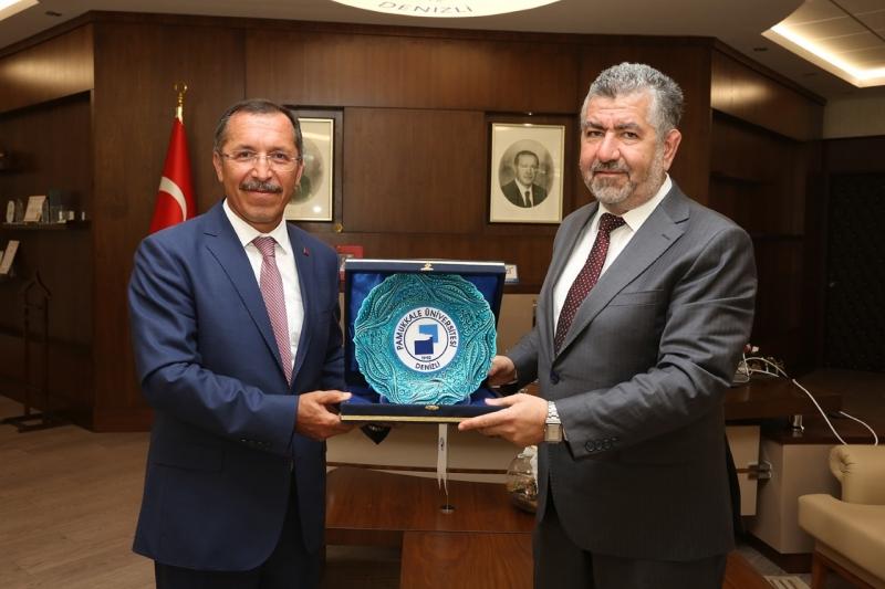 Bakan Yardımcısından PAÜ ve Pamukkale Teknokent'e Ziyaret
