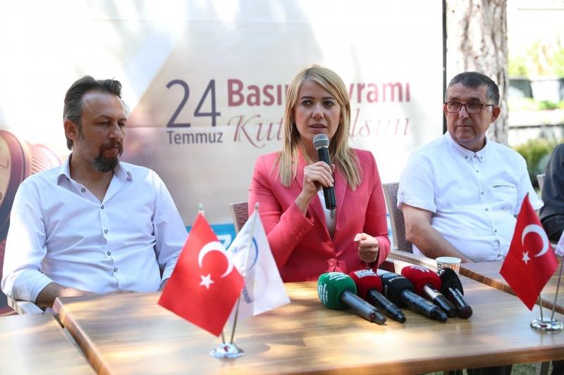 Başkan Doğan, 24 Temmuz Basın Bayramı nedeniyle gazeteciler ile bir araya geldi…