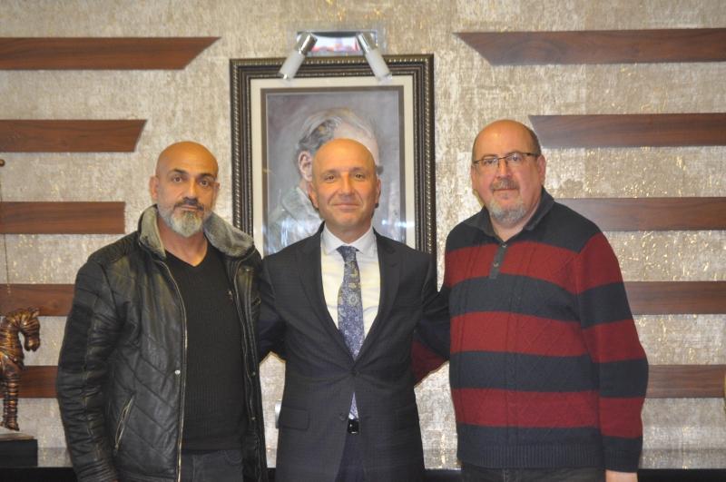 Başkan Özbaş'a Anlamlı Ziyaret