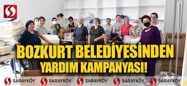 Bozkurt Belediyesinden yardım kampanyası!