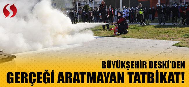 Büyükşehir DESKİ'den gerçeği aratmayan tatbikat!