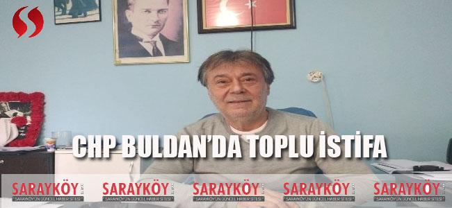 CHP Buldan'da Toplu İstifa