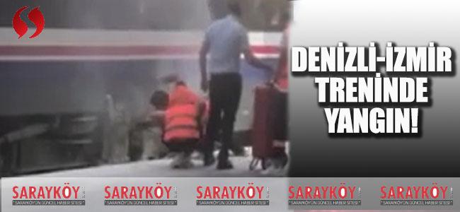 Denizli-İzmir Treninde Yangın!