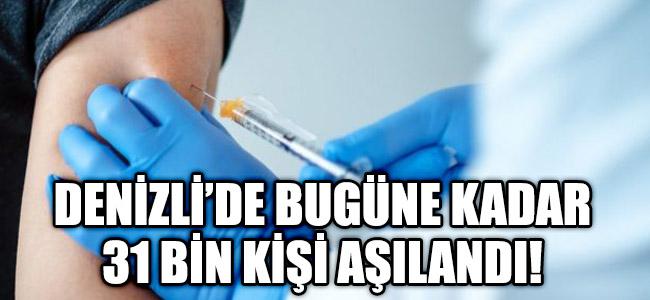 Denizli'de 31 Bin Kişi Koronavirüs Aşısı Oldu!