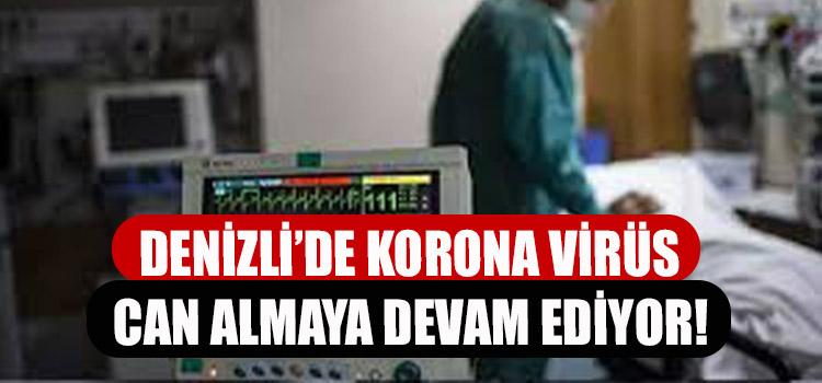 DENİZLİ'DE KORONA VİRÜS CAN ALMAYA DEVAM EDİYOR!