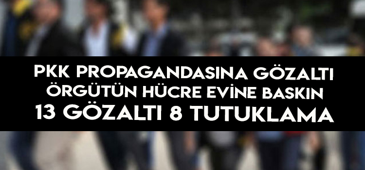 DENİZLİ'DE TERÖR OPERASYONU