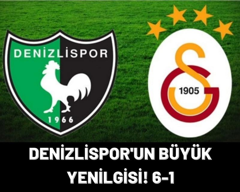 Denizlispor İstanbul'dan Büyük Yenilgi İle Ayrıldı!