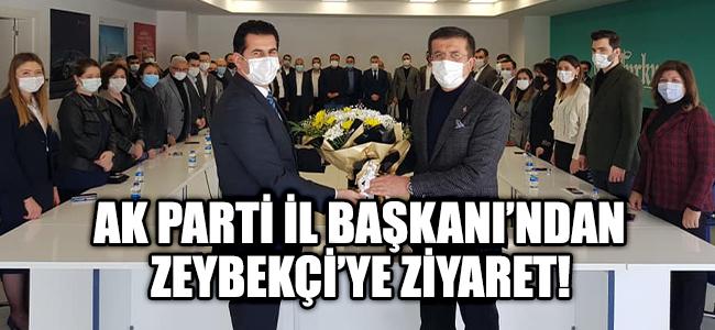 İl Başkanı Güngör'den Zeybekçi'ye Ziyaret!