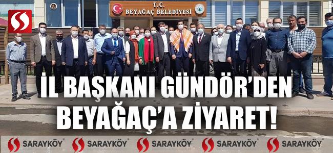 İl Başkanı Güngör'den Beyağaç'a ziyaret!