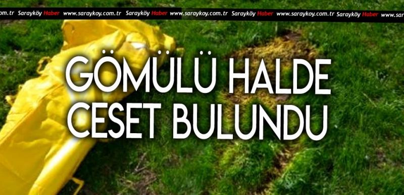 JANDARMA İŞ MAKİNASIYLA KAZDI