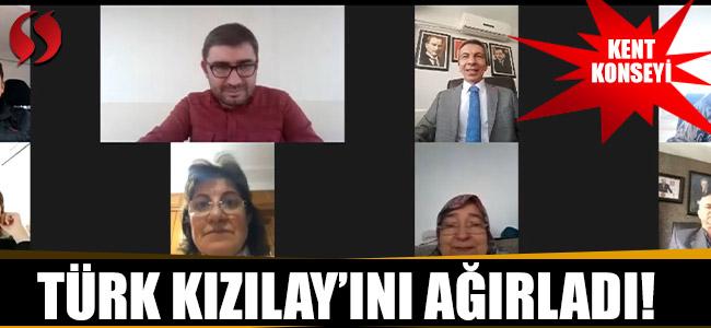Kent Konseyi Türk Kızılay'ını Ağırladı!