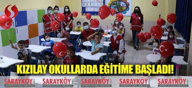 Kızılay okullarda eğitime başladı!