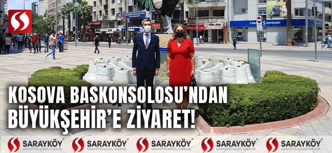 Kosova Başkonsolosu'ndan Büyükşehir'e ziyaret!