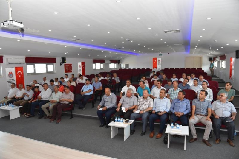 Mesleki Eğitim Müdürleri Toplantısı Yapıldı