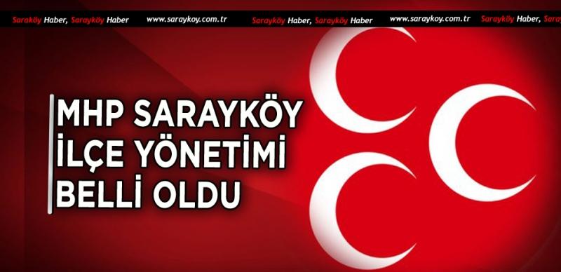 MHP Sarayköy İlçe Teşkilatında görev dağılımı yapıldı.