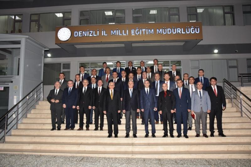 Milli Eğitim Bakan Yardımcısı Prof. Dr. Mustafa Safran Müdürlüğümüze Yaptığı Ziyarette Değerlendirmelerde Bulundu