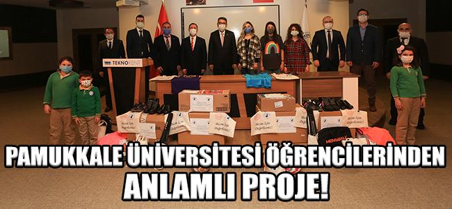 Pamukkale Üniversitesi Öğrencilerinden Anlamlı Proje!