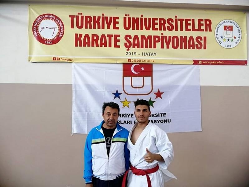 PAÜ Erkek Karate Takımı Türkiye Üçüncüsü Oldu