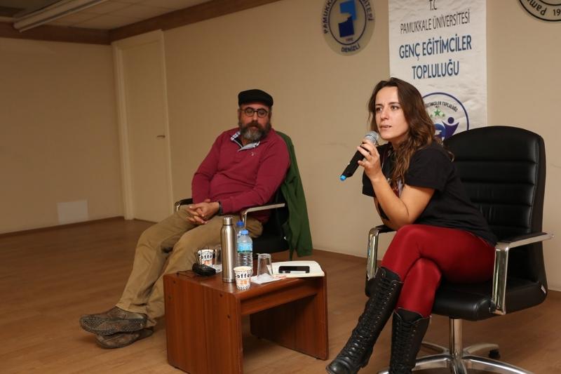 PAÜ'de ''Başka Bir Okul Mümkün'' Eğitim Söyleşisi