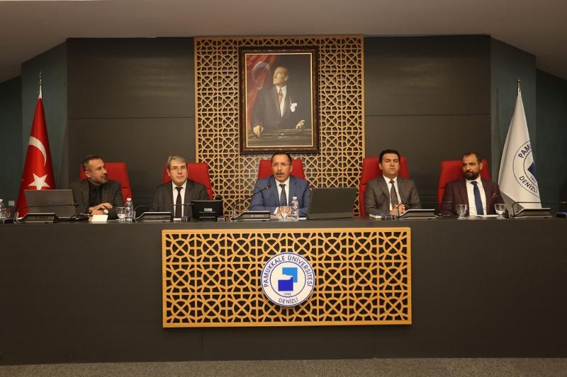 """Rektör Bağ: """"İş Birliklerimiz ile Güçlendik, Pamukkale Üniversitesine İlgi Arttı"""""""