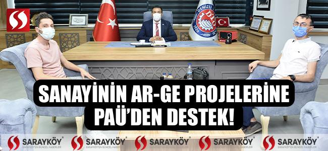 Sanayinin Ar-Ge Projelerine PAÜ'den Destek!