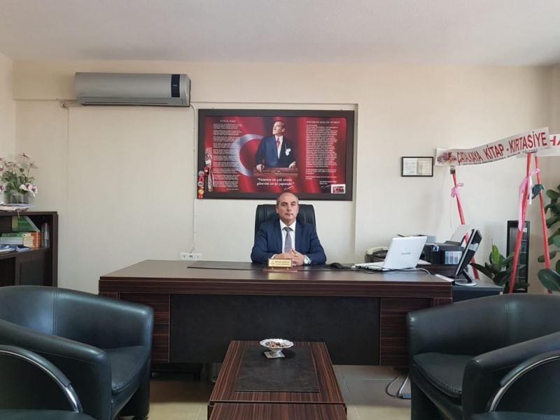 Sarayköy İlçe Milli Eğitim Müdürü Akhan'ın Eğitim-Öğretim Yıl Sonu Mesajı