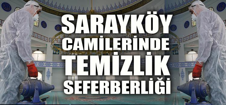 SARAYKÖY'DE CUMA NAMAZI ÖNCESİ HAZIRLIKLAR TAMAM