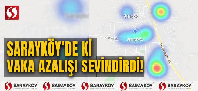 Sarayköy'de ki vaka azalışı sevindirdi!
