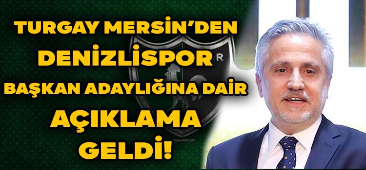 Turgay Mersin'den Basın Açıklaması!