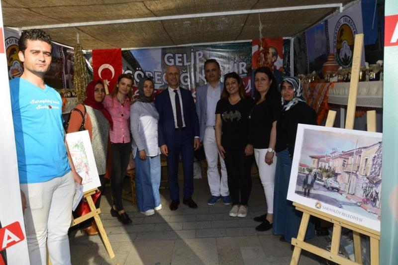 Turizm Haftas'nda Sarayköy dikkat çekti