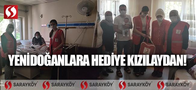 Yenidoğanlara hediye Kızılay'dan!