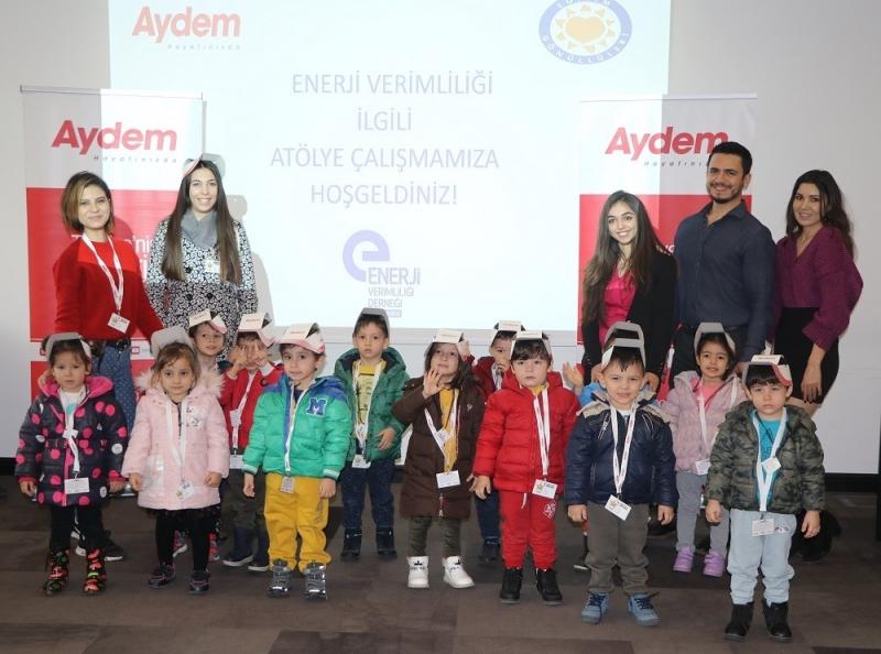 Aydem 'den Çocuklar İçin Enerji Tasarrufu Semineri