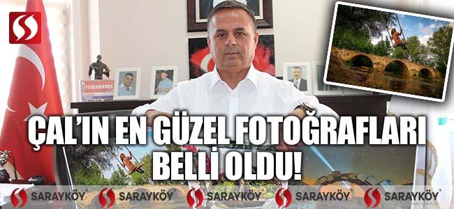 Çal Belediyesi'nin düzenlediği fotoğraf yarışmasının sonuçları açıklandı!
