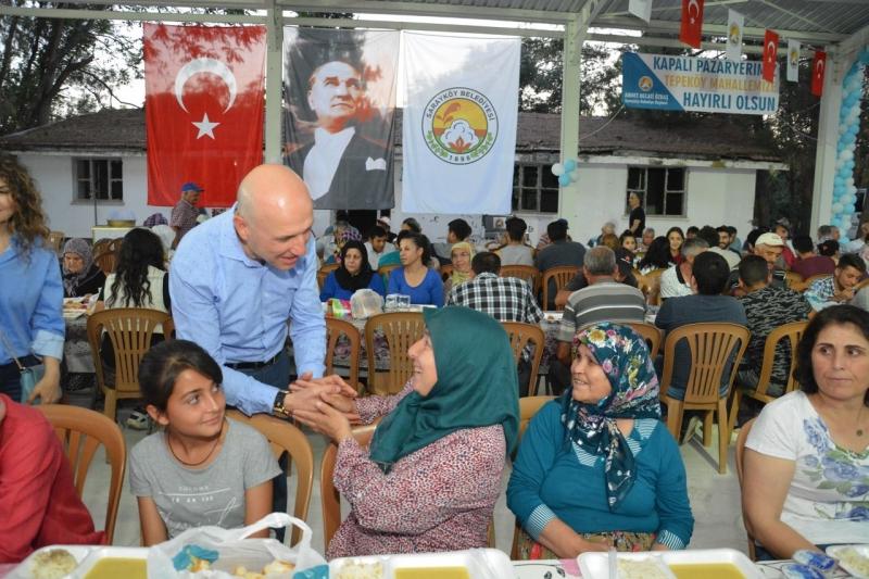 Sarayköy Belediyesi iftar sofraları vatandaştan tam not aldı