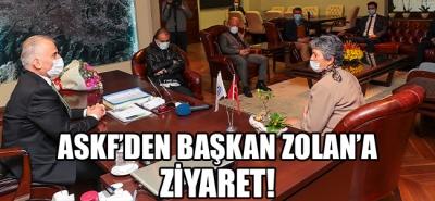 ASKF'den Başkan Zolan'a ziyaret!