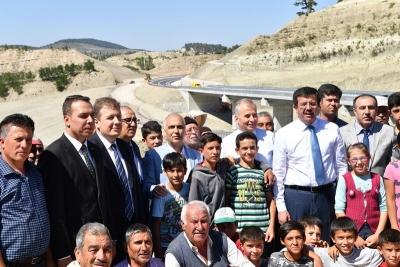 Bakan Zeybekci ve Vali Karahan Çameli Yolunda İncelemelerde Bulundu