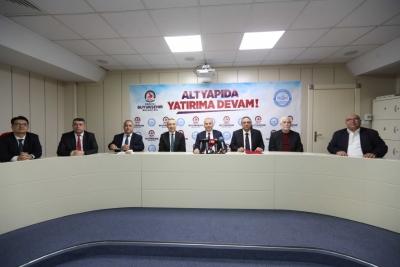 Başkan Osman Zolan'dan 5 mahalleye daha alt yapı müjdesi