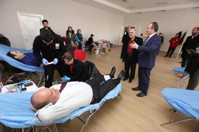 Büyükşehir DESKİ'den 5. geleneksel kan bağışı