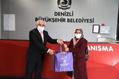 Büyükşehir'den çölyak hastalarına gıda desteği