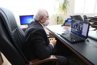 Büyükşehir'den ilçe belediyelere telekonferansla eğitim