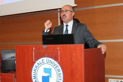 DENİB Başkanı Hüseyin Memişoğlu PAÜ Öğrencileriyle Buluştu