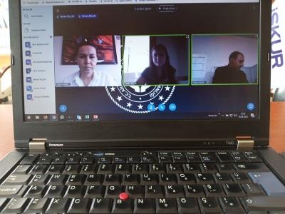 Denizli İŞKUR'da Kadın Konuk Evleri'nde Hizmet Alan Kadınlara Yönelik Online Eğitim Düzenlendi