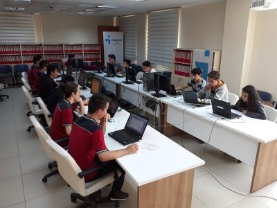 Denizli İŞKUR'da Öğrenciler İçin Bilgisayar Laboratuarı Kuruldu